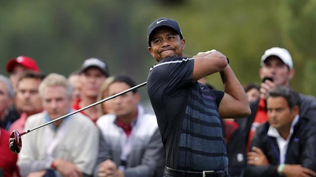 Tiger Woods in action at the Turkish Airlines Open (Reuters)