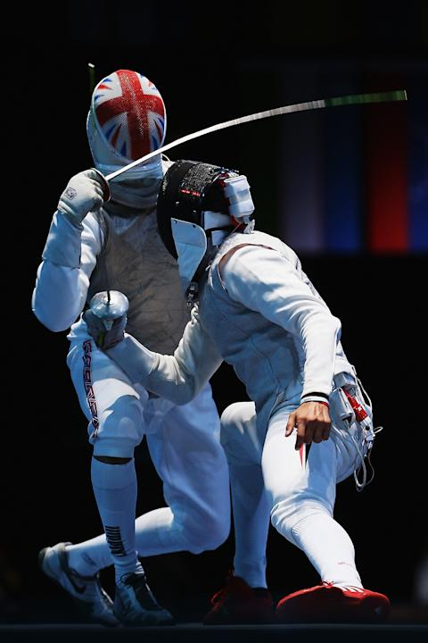 Olympics Day 9 - Fencing