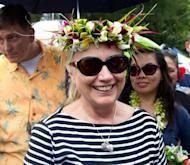 US Secretary of State Hillary Clinton visits the Avarua markets in Rarotonga, Cook Islands, on September 1. Clinton, who turns 65 next month, has repeatedly said that she will retire at the end of Barack Obama's term in January regardless of the election