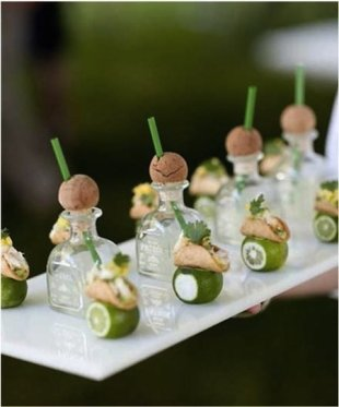 Top 5 Pinterest Pins: DIY Cinco De Mayo Celebrations image mini tacos and tequila