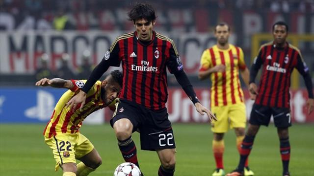 Champions League - Kaka back to his best in Milan draw