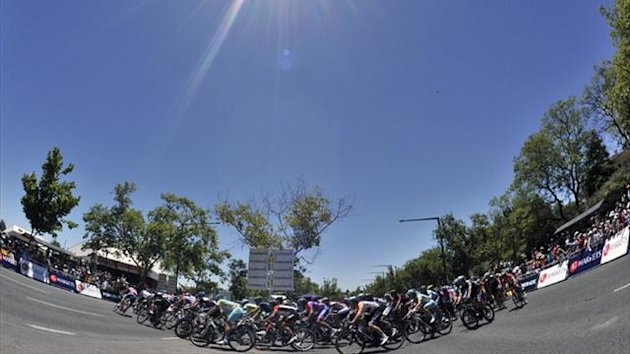Riders on the Tour Down Under (Reuters)