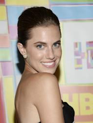 Actress Allison Williams arrives at HBO's Post Emmy Awards reception on Monday, Aug. 25, 2014 in West Hollywood, Calif. (Photo by Evan Agostini/Invision/AP)