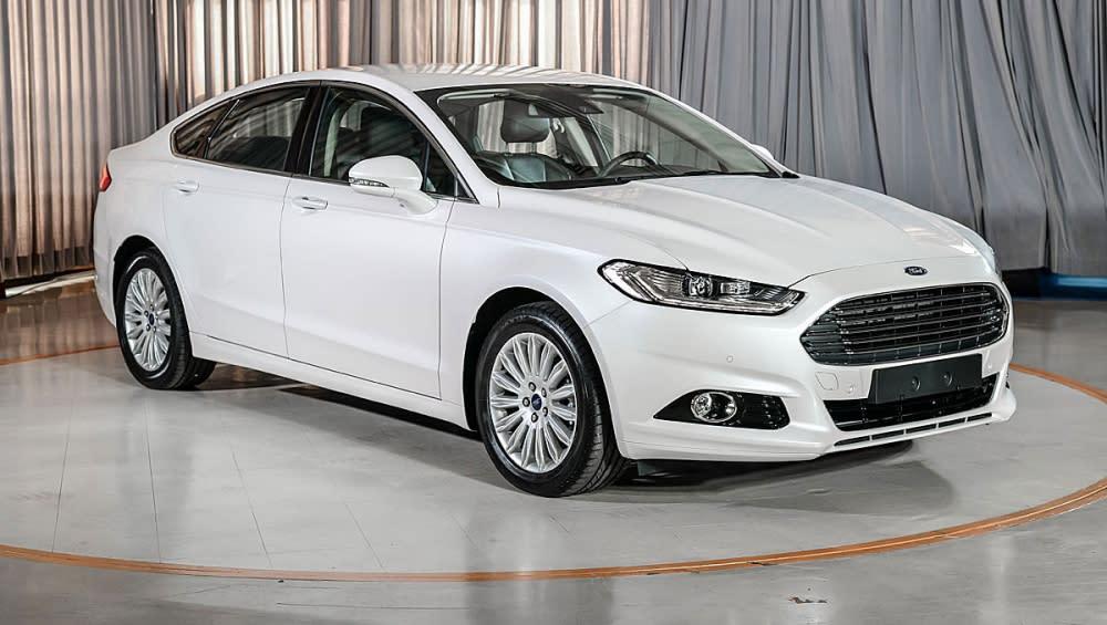 240匹強悍動力 Ford Mondeo125.9萬上市