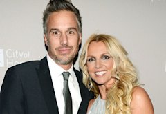 Jason Trawick and Britney Spears | Photo Credits: Michael Kovac/Getty Images
