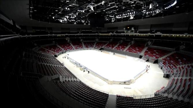 Sochi Winter Games construction work continues
