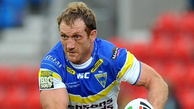 Rugby League - Huddersfield outplayed by Warrington