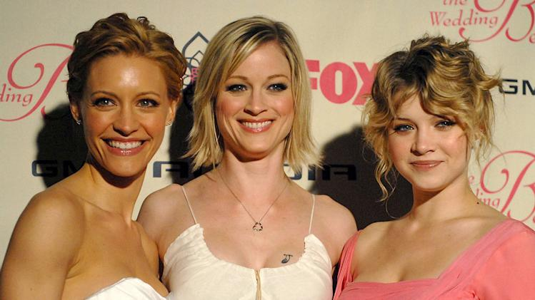 "KaDee Strickland, Teri Polo and Sarah Jones at FOX's ""The Wedding Bells"" Premiere Party."