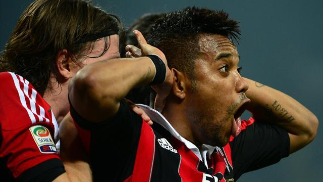 Serie A - Robinho not ready for Milan exit