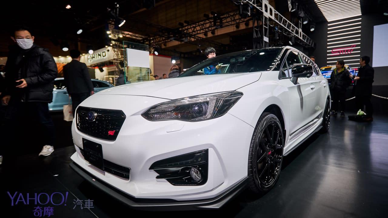 【2019東京改裝車展圖輯】昴六連星硬漢本色!Subaru全系列STi式樣熱血上陣