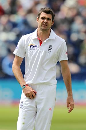 James Anderson, pictured, has been criticised by former Australia opener Matthew Hayden