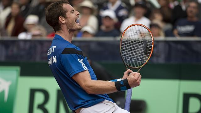 Davis Cup - Murray wins as Britain seal historic victory