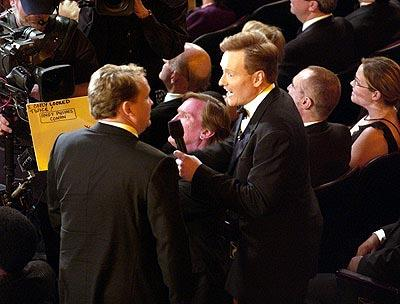 Andy Richter and Conan O'Brien Emmy Awards - 9/22/2002