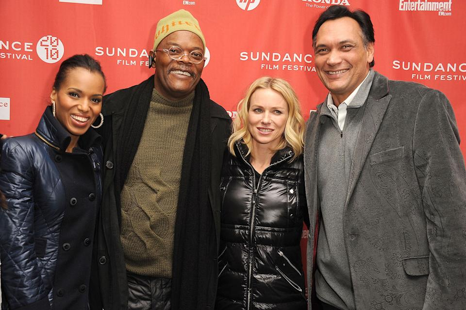2010 Sundance Film Festival Kerry Washington Samuel L Jackson Naomi Watts Jimmy Smits