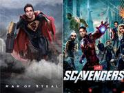 FUKREY spoofs MAN OF STEEL and SCAVENGERS