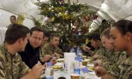 David Cameron's Christmas Message For Troops