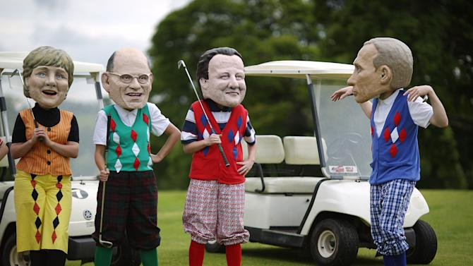 Final Day Of The G8 Summit