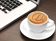 How Social Media Can Help Your Job Search image social media coffee