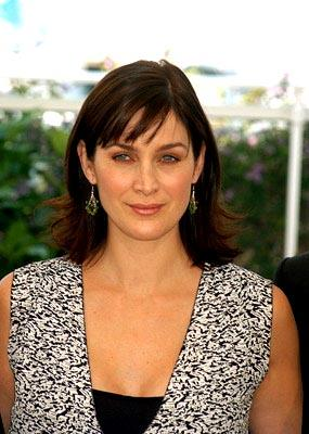 Carrie Anne Moss The Matrix: Reloaded Photo Call Cannes Film Festival 5/15/2003