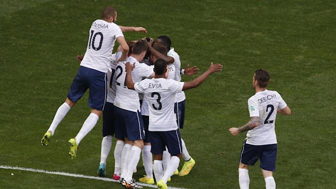 World Cup - Pogba scores as France oust Nigeria