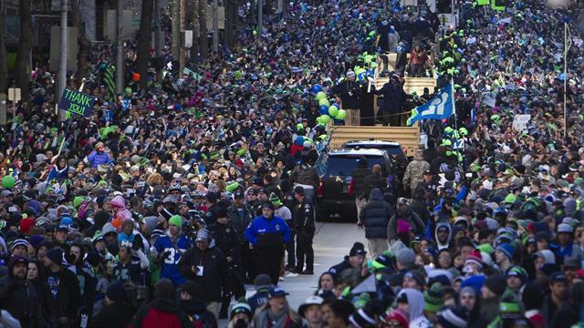 American Football - Seattle Seahawks' Super Bowl victory parade draws 700,000