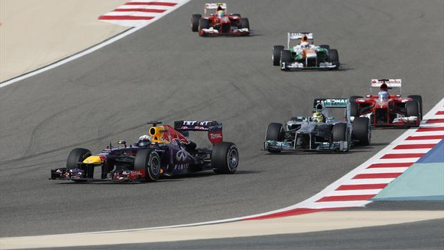 Formula 1 - Red Bull: Title battle a four-way fight