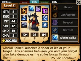 5 New iOS Games in 2014 You'll Want to Install image Battleheart Legacy