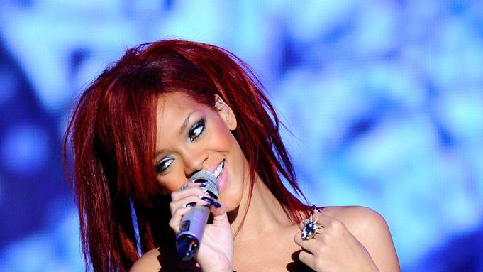 Rihanna NBA Performance