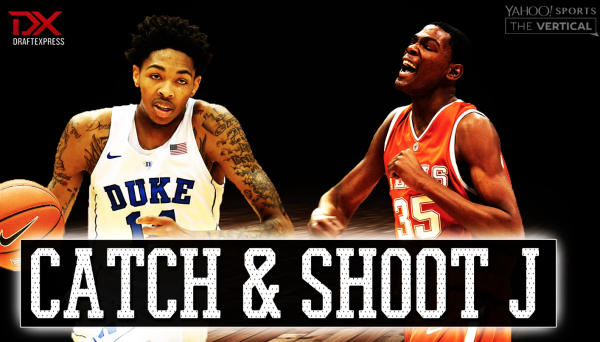brandon ingram vs kevin durant catch and shoot j watch the video yahoo sports. Black Bedroom Furniture Sets. Home Design Ideas