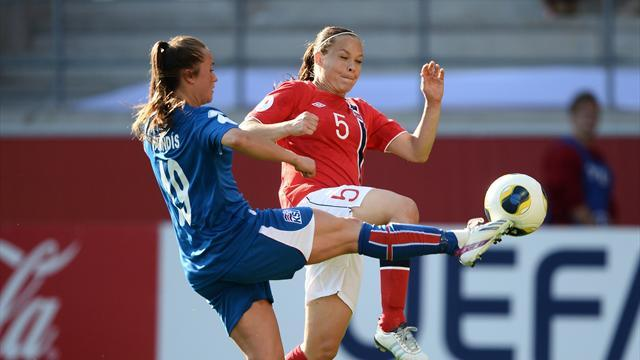 Women's Euro - Iceland leave it late against Norway