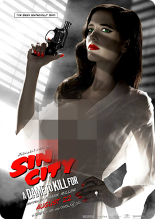 Poster Sin City Eva Green