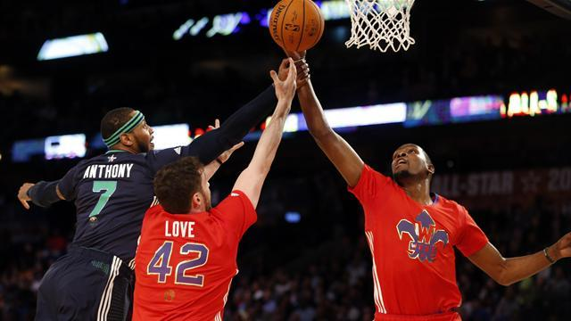 NBA - East rally to win record-setting All-Star game