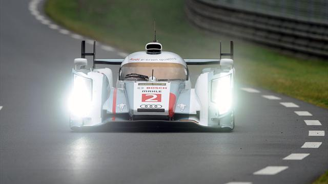 Le Mans 24 Hours - Duval leads test day in #2 Audi