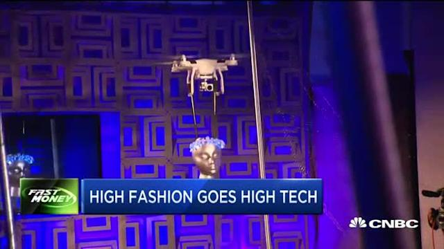 High fashion goes high tech