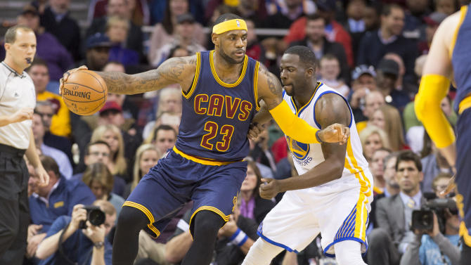 Draymond Green: I'm ready for LeBron James