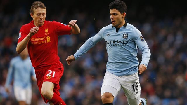 Premier League - Aguero genius earns Man City draw with Liverpool