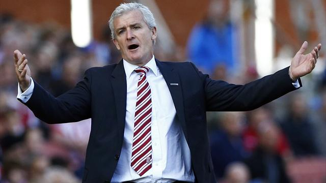 FA Cup - Hughes accepts defeat