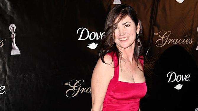 Kim Delaney arrives at the 36th Annual Gracie Awards Gala at The Beverly Hilton hotel on May 24, 2011 in Beverly Hills, California.