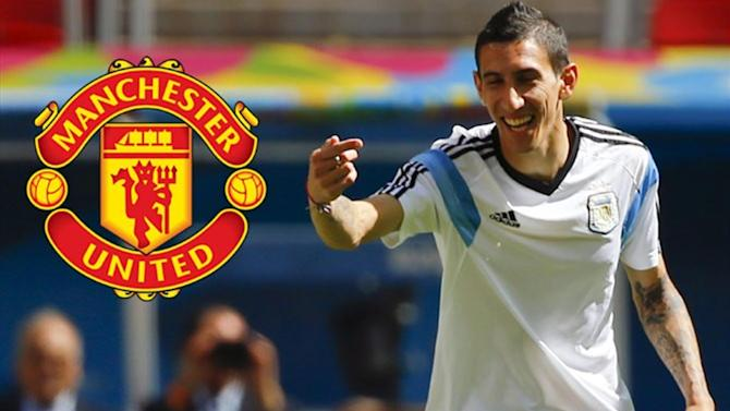 Premier League - Di Maria joins Manchester United for British transfer record fee