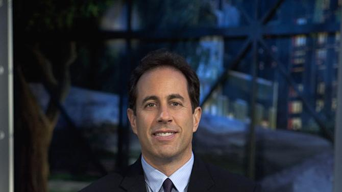 "Jerry Seinfeld in ""The Marriage Ref."""