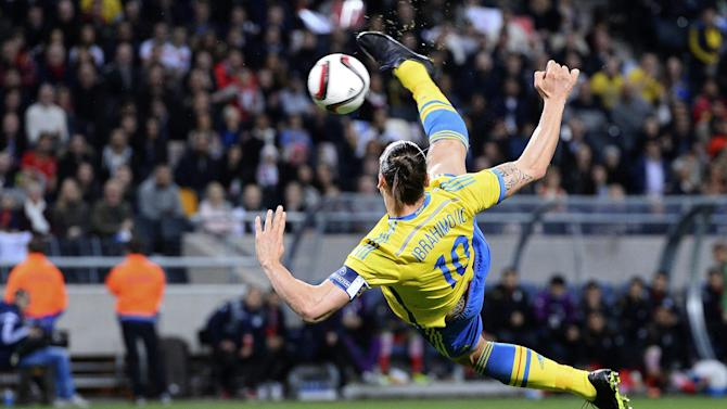 International friendlies - Zlatan Ibrahimovic silences raucous Iran fans to give Sweden 3-1 win