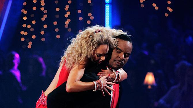 """David Alan Grier and Kym Johnson perform the Viennese Waltz to """"I Put a Spell on You"""" by Nina Simone on """"Dancing with the Stars."""""""