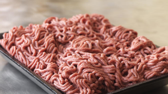 """FILE - This September 2012 file photo provided by Dakota Dunes, S.D.-based meat processor Beef Products Inc., shows a sample of their lean, finely-textured beef. In a statement sent Thursday, June 13, 2013, ABC News says it intends to ask a circuit court to dismiss a South Dakota beef processing company's defamation lawsuit now that it has been moved from federal court. Beef Products Inc. sued for defamation over ABC's coverage of a meat product that critics dub """"pink slime."""" (AP Photo/Beef Products, Inc., File)"""