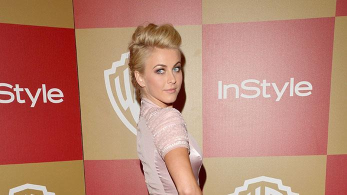 InStyle And Warner Bros. Golden Globe Party - Arrivals: Julianne Hough