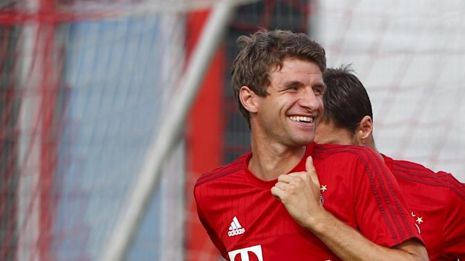 Bundesliga - Muller will never leave Munich, insists Bayern chief
