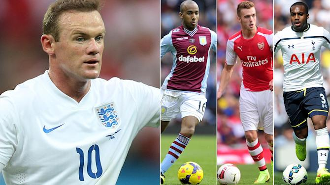 Euro 2016 - Three new boys set for England with Rooney as captain