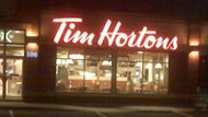 The Tim Hortons store on Ilsley Avenue in Dartmouth was robbed by two masked men early Monday morning.