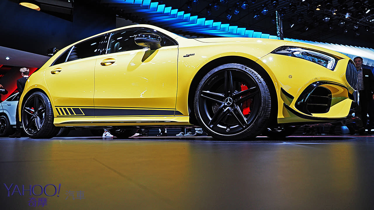 【2019法蘭克福車展】Mercedes-AMG全新A45系列猛暴亮相!