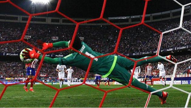 Penalty hero Keylor Navas left frustrated as Real Madrid fail to keep Atletico at bay