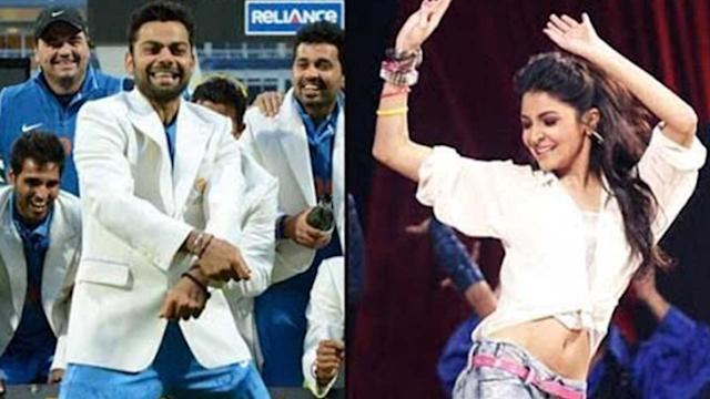 Anushka Sharma s Special Performance For Virat Kohli